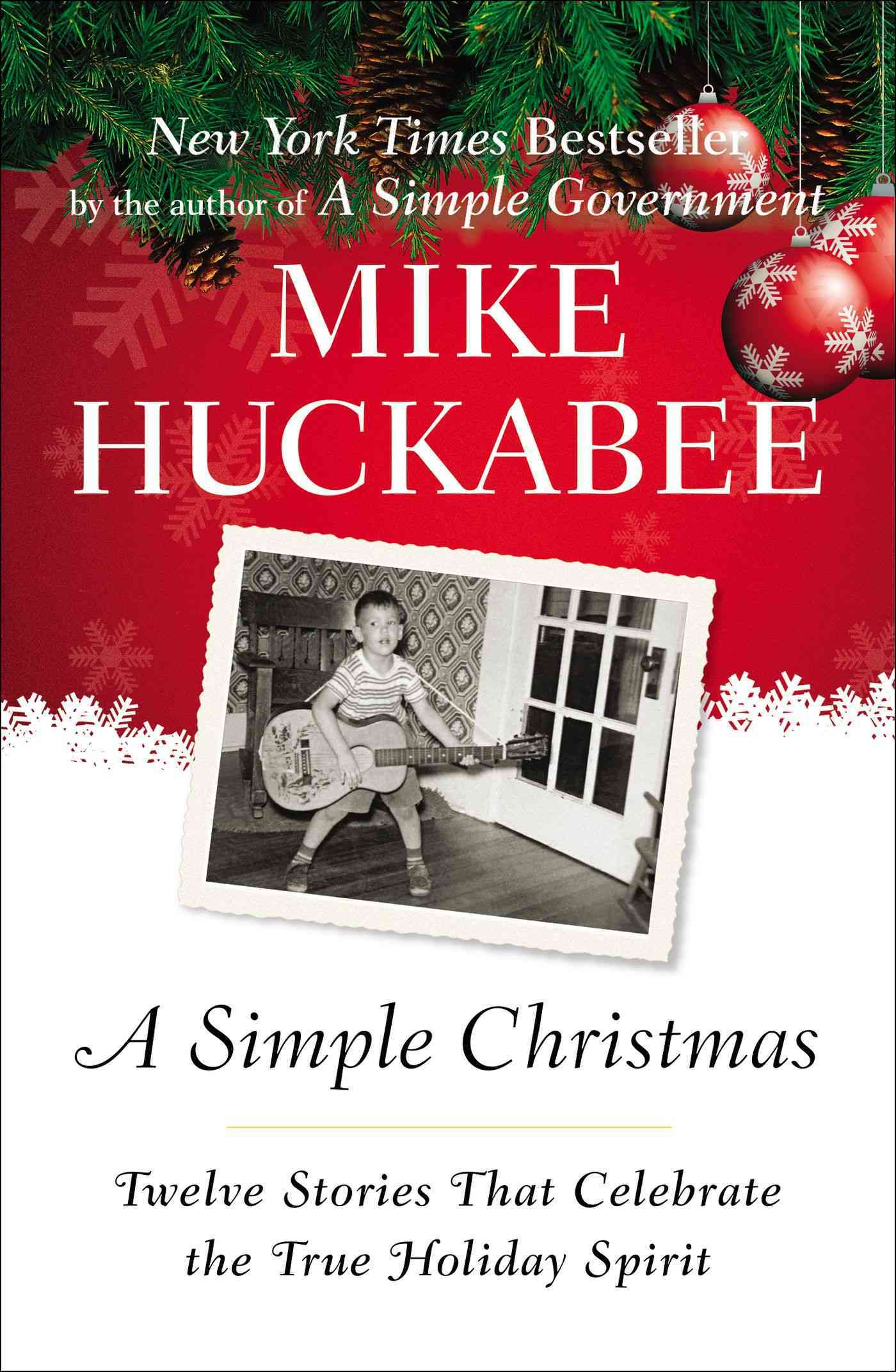 A Simple Christmas By Huckabee, Mike
